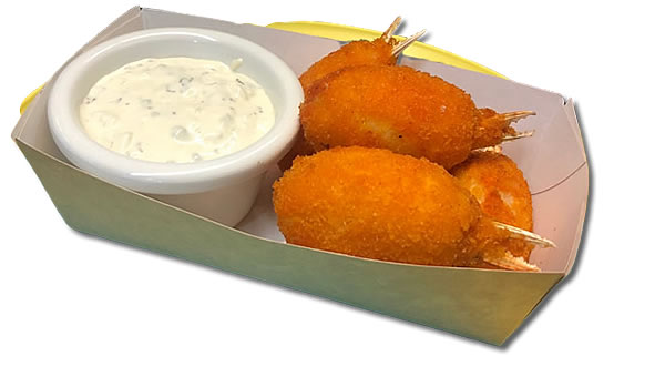 BREADED CRAB CLAWS  (5 KOM) €4.00