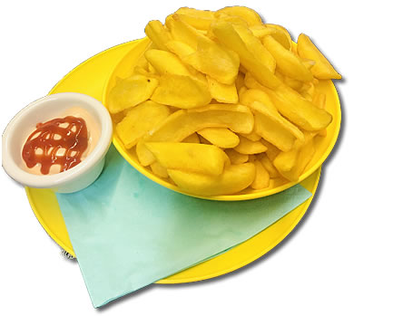 FRENCH FRIES BIG (400g) €4.90